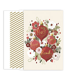 masterpiece studios ornament bouquet boxed holiday cards - Holiday Cards Online