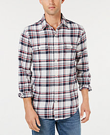 Lucky Brand Men's Regular-Fit Plaid Utility Shirt
