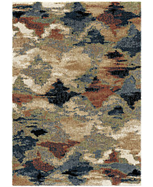 Orian Next Generation Diamond Heather Sunshine 9' x 13' Area Rug