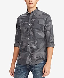 Polo Ralph Lauren Men's Classic Fit Camouflage Shirt