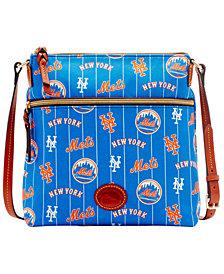 Dooney & Bourke New York Mets Nylon Crossbody Bag
