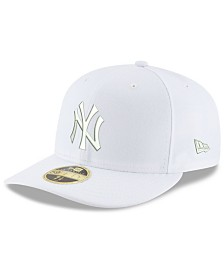 New Era New York Yankees Triple White Low Profile 59FIFTY Fitted Cap