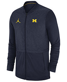Nike Men's Michigan Wolverines Elite Hybrid Full-Zip Jacket