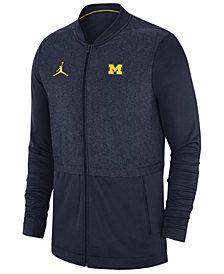 Nike Men's Michigan Wolverines Elite Hybrid Full-Zip Jacket