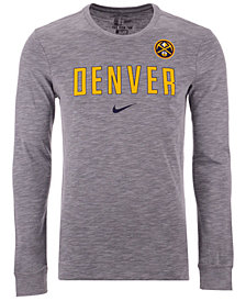 Nike Men's Denver Nuggets Essential Facility Long Sleeve T-Shirt