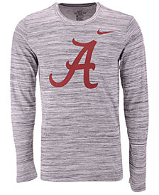 Nike Men's Alabama Crimson Tide Legend Travel Long Sleeve T-Shirt