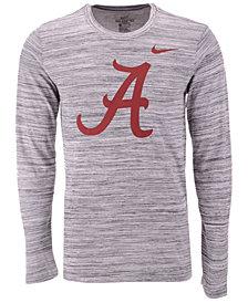 Nike Men's Alabama Crimson Tide Legend Travel Long Sleeve T-Shirt