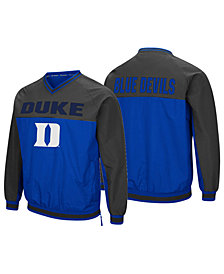 Colosseum Men's Duke Blue Devils Windbreaker Pullover Jacket