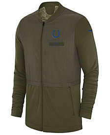 Nike Men's Indianapolis Colts Salute To Service Elite Hybrid Jacket