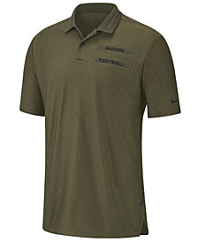 Nike Men's Oakland Raiders Salute To Service Polo