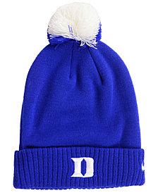 Nike Duke Blue Devils Beanie Sideline Pom Hat
