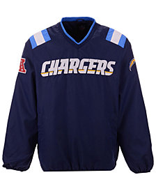 G-III Sports Men's Los Angeles Chargers Countback Pullover Jacket
