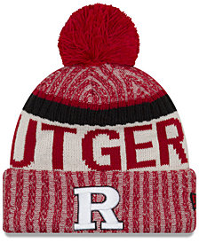 New Era Rutgers Scarlet Knights Sport Knit Hat