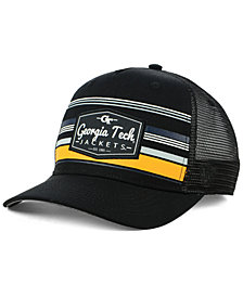 Top of the World Georgia-Tech Top Route Trucker Snapback Cap