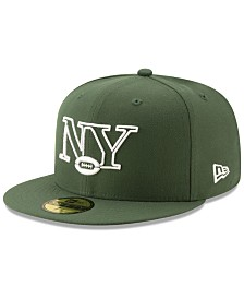 New Era New York Jets Logo Elements Collection 59FIFTY FITTED Cap
