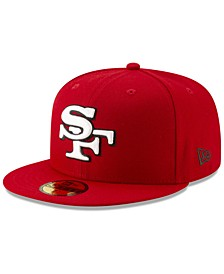San Francisco 49ers Logo Elements Collection 59FIFTY FITTED Cap