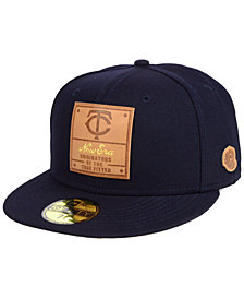 New Era Minnesota Twins Vintage Team Color 59FIFTY Fitted Cap