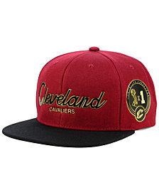 Mitchell & Ness Cleveland Cavaliers City Champs Snapback Cap