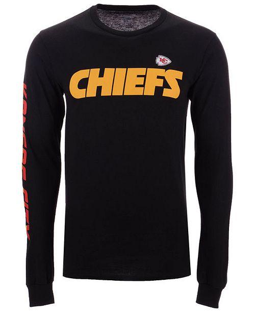 Authentic NFL Apparel Men's Kansas City Chiefs Streak Route Long  hot sale