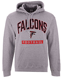 Authentic NFL Apparel Men's Atlanta Falcons Gym Class Hoodie
