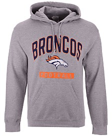 Authentic NFL Apparel Men's Denver Broncos Gym Class Hoodie