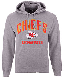 Authentic NFL Apparel Men's Kansas City Chiefs Gym Class Hoodie