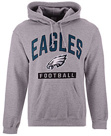 Authentic NFL Apparel Men's Philadelphia Eagles Gym Class Hoodie