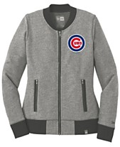6680dba91 New Era Women s Chicago Cubs French Terry Full-Zip Jacket