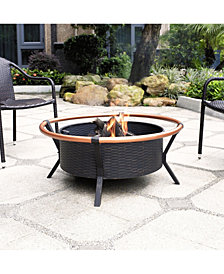 Yuma Copper Ring Firepit