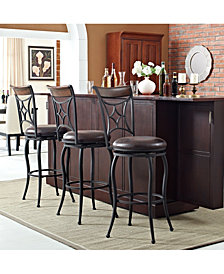 Kayden Bar Stool In With Cushion