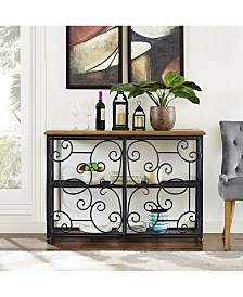 Roots Accent Cabinet