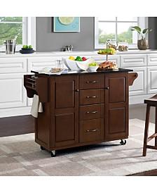 Eleanor Granite Top Kitchen Cart
