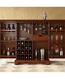 Alexandria Expandable Bar Cabinet