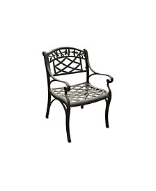 Sedona Cast Aluminum Arm Chair (Set Of 2)
