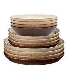 Denby Studio Craft 12 Piece Dinnerware Set, Service for 4