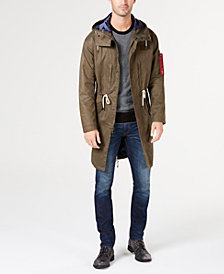 Michael Kors Men's Canvas Hooded Anorak