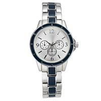 Charter Club Women's Chronograph Two-Tone Bracelet Watch (Silver)