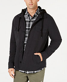 American Rag Men's Twill Sherpa Jacket, Created for Macy's