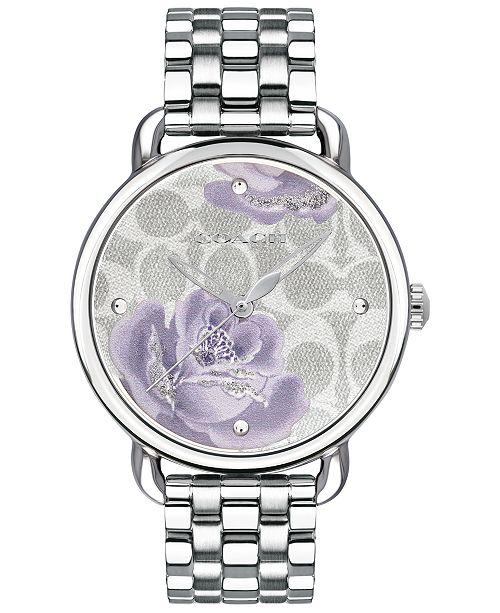 COACH Women's Delancey Stainless Steel Bracelet Watch 36mm