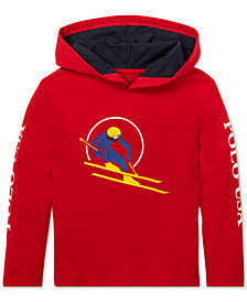Polo Ralph Lauren Toddler Boys Downhill Skier Graphic Cotton Hoodie