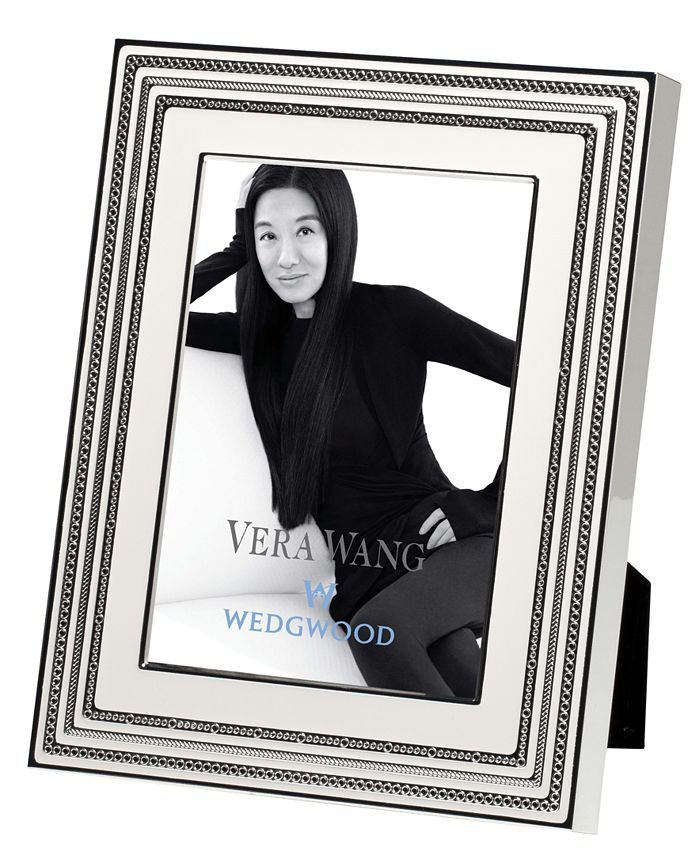 """Vera Wang Wedgwood - With Love 5"""" x 7"""" Picture Frame"""