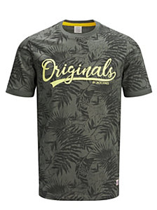 Jack & Jones Originals Crew Neck Printed Tee