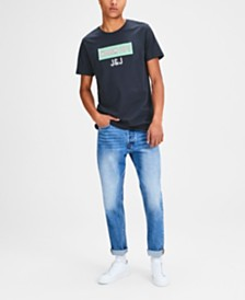Jack & Jones Originals Men's Printed Crew Neck TShirt