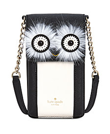 kate spade new york Penguin Crossbody iPhone Case