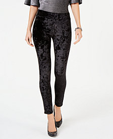 MICHAEL Michael Kors Penne Velvet Printed Leggings, In Regular & Petite Sizes