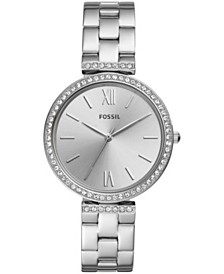 Fossil Women's Madeline Stainless Steel bracelet Watch 38mm