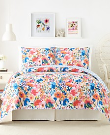 Modern Heirloom Conservatory Garden Full/Queen Quilt Set - 3Pc