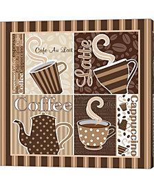 Cafe Latte XIII by ND Art & Design Canvas Art