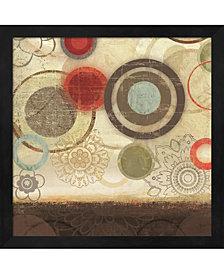 Colourful Elements I by Allison Pearce Framed Art