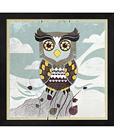 Wise Owl by Posters International Studio Framed Art